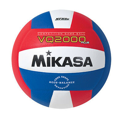 Mikasa Vq2000-Usa Red White Blue Competition Volleyball Nfhs Usva New