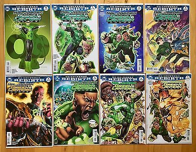 Hal Jordan And The Green Lantern Corps - DC REBIRTH - Issues 1-7 - Complete Run