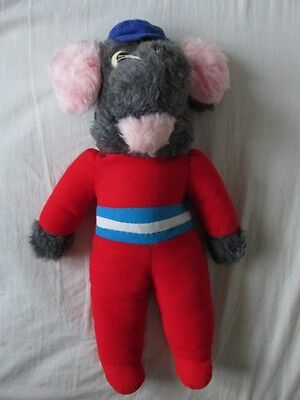 "Retro Roland Rat soft toy from 1980's approx. 15"" tall"