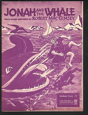 Jonah and the Whale 1938