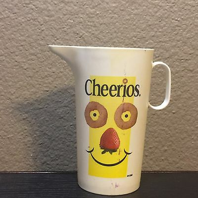 Small Plastic Cheerios Pitcher General Mills