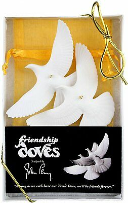 Set of 2 Turtle Dove Ornaments - As Seen in Home Alone 2 by Home Alone BRAND NEW