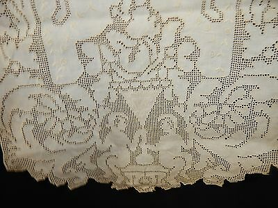 antique lace table runner angel cotton vintage victorian art deco wedding party