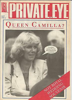 Private Eye Mag # 864 27 January 1995 Camilla Parker Bowles  Duchess of Cornwall
