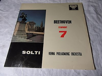 SXL2121 BEETHOVEN Symphony No.7 GEORG SOLTI & Vienna Phil - DECCA Stereo LP