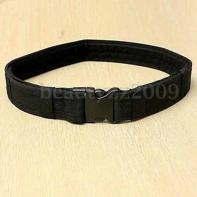 1.5'' Adjustable Tactical Load Bearing Cambat Duty Web Buckle Belt Band New
