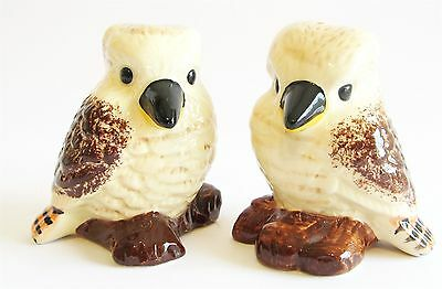Australian Kookaburra Ceramic Bird Salt & Pepper Shakers