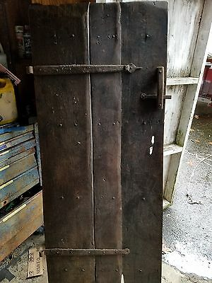 ANTIQUE WOOD BARN DOOR wooden architectural salvage farm house old ORIGINAL