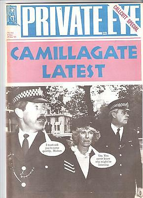Private Eye Mag # 812 29 January 1993 Camilla Parker Bowles  Duchess of Cornwall