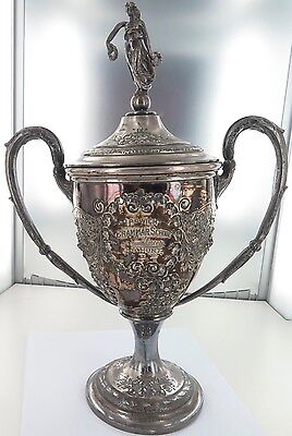 "Rare Important 1919 Trophy Ipswich Grammar. John Hunt, ""The Wally Lewis Of 1924"""