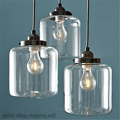 Classic Vintage Electroplated Pendant Lamp Hanging Lighting Droplight Fixture