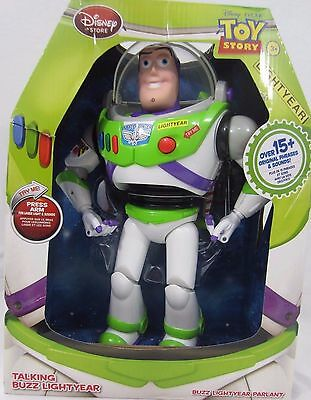 New Disney Store Toy Story Buzz Lightyear!  Says Over 15 Original Phrases