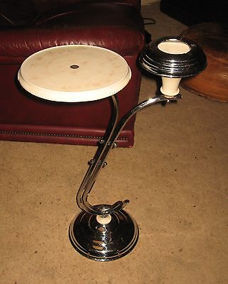A Classic Art Deco Smoker's Stand / Wine Table