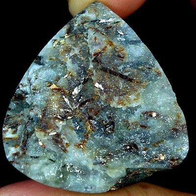 83.20Cts. AAA 100% NATURAL ASTROPHYLLITE DRUZY HEART CABOCHON AFRICAN GEMSTONES