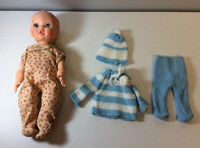 Gerber Baby Doll With Two Outfits 1972