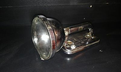Eveready Vintage Chrome Big Jim Lantern Flashlight Model 101