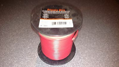 Automotive Primary Wire 14 Gauge Red 100 FT