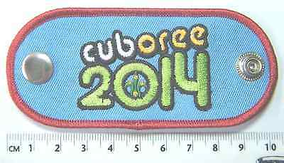 CUBOREE 2014 WOGGLE, Scouts Queensland, Australia, NEW (clips together)