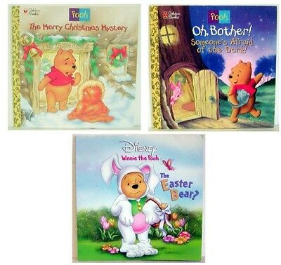 Lot Of 3- Disney's Winnie The Pooh Paperback Book