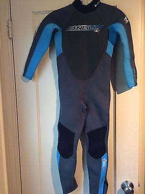 O'Neill Reactor Youth Wetsuit 3/2 mm full Boys Girl Kids Wetsuit EUC 8