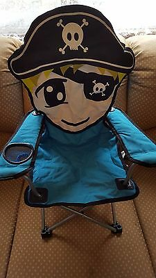 Childs Fold up camp chair Pirate