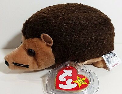 """TY Beanie Babies """"PRICKLES"""" the Hedgehog - MWMTs! RETIRED! MUST HAVE! GREAT GIFT"""