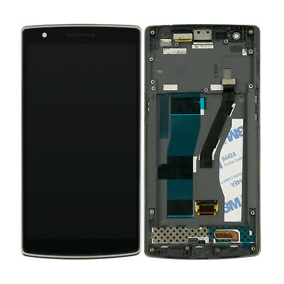 Oneplus One 1+ A0001 LCD Display Screen + Digitizer Touch Glass + Frame Assembly
