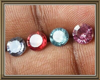 Spinel-100% Natural and Rare Spinels(4 Pcs)