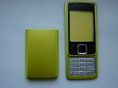 Nokia Cover Case For 6300 Front+Back+Keypad Green