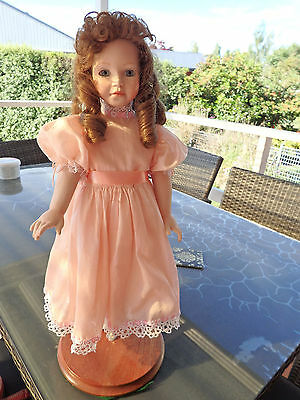 Porcelain doll cloth body Allison
