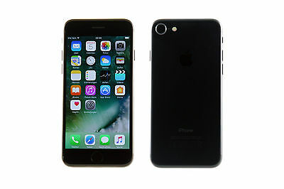 Apple iPhone 7 128GB Schwarz (A1 AT Simlock) - WIE NEU #566