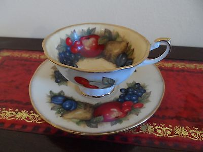 QUEEN'S ROSINA CHINA CO LTD FINE BONE CHINA TEACUP TEA CUP & SAUCER crown for pr