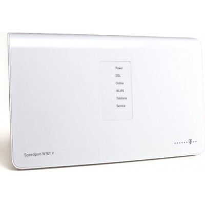 Telekom Speedport W921V Wlan Router Annex J Dsl/vdsl Ip-Anschluss Splitterlos