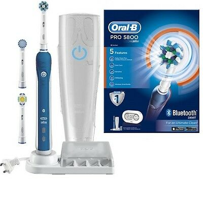 Braun Oral-B PRO 5800 SmartSeries Electric Toothbrush 3D Bluetooth  RPR £199