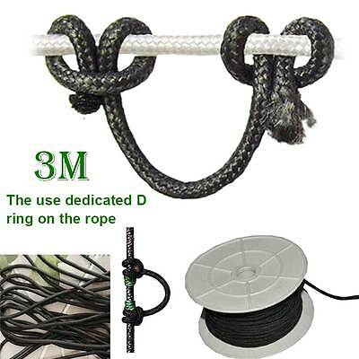 3M Super Release Nocking D Loop Bow Rope Compound Bowtie Archery Accessories