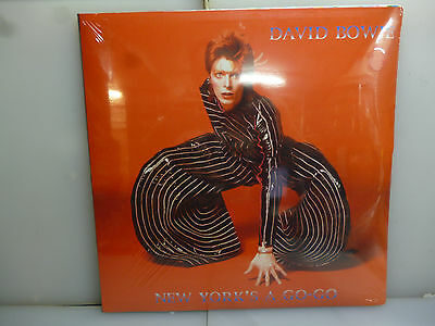 David Bowie-New York's A Go-Go. Nyc, Usa 1973.-2Lp Red Vinyl+Poster-New.sealed