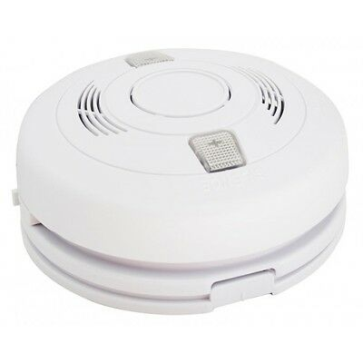 Photoelectric Smoke Detector 240V - Matelec Brand - Battery Backup - ELECTRICAL!