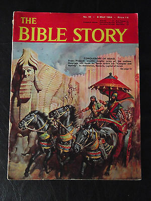 The Bible Story Magazine Issue Number 10 9 May 1964 Fleetway Publications