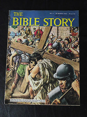 The Bible Story Magazine Issue Number 4 28 March 1964 Fleetway Publications