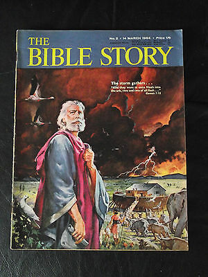 The Bible Story Magazine Issue Number 2 14 March 1964 Fleetway Publications