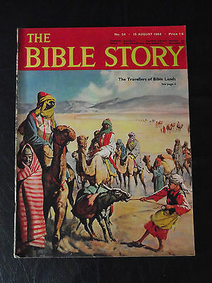 The Bible Story Magazine Issue Number 24 15 August 1964 Fleetway Publications