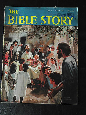 The Bible Story Magazine Issue Number 9 2 May 1964 Fleetway Publications