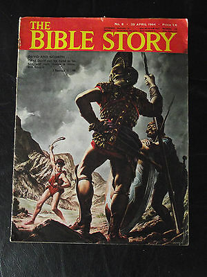 The Bible Story Magazine Issue Number 8 25 April 1964 Fleetway Publications