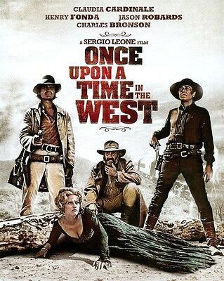 """Western Film Once Upon a Time in the West Cowboy Movie Art POSTER 32x24"""""""