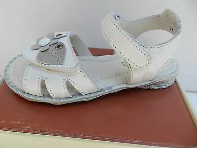 GBB Lindsay Chaussures Fille 27 Sandales Cuir Sabots Mules Clogs Nu Pieds Neuf