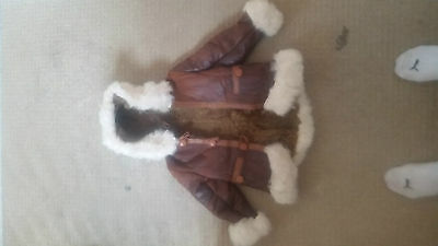 Girls Real Leather Sheepskin
