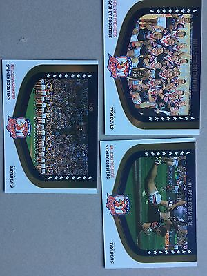 2014 NRL Traders Premiership Series Cards x3
