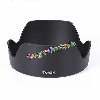 EW-83H Camera Bayonet Mount Lens Hood for Canon EF 24-105mm f/4L IS USM LENS