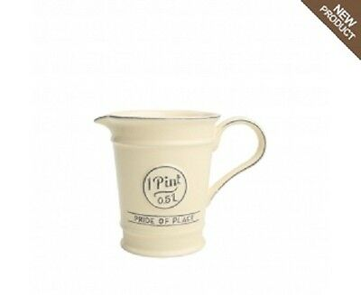 T & G Woodware - Pride of Place - Pint Jug - Old Cream