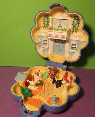 Polly Pocket Mini ♥ Fifi`s Apartment ♥ Polly in Paris ♥ 100% Complete ♥ 1990 ♥